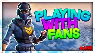 Fortnite Battle Royale // PLAYING WITH SUBSCRIBERS (Z-Bucks) // FAMILY FRIENDLY // Wins: 775+ //