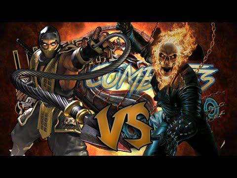 Scorpion Vs Ghost Rider I UltraCombates De Rap Legendario ...