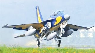 JET FIGHTER T50i Golden Eagle - AIR FORCE SHOW - Pameran Dirgantara TNI AU [HD]