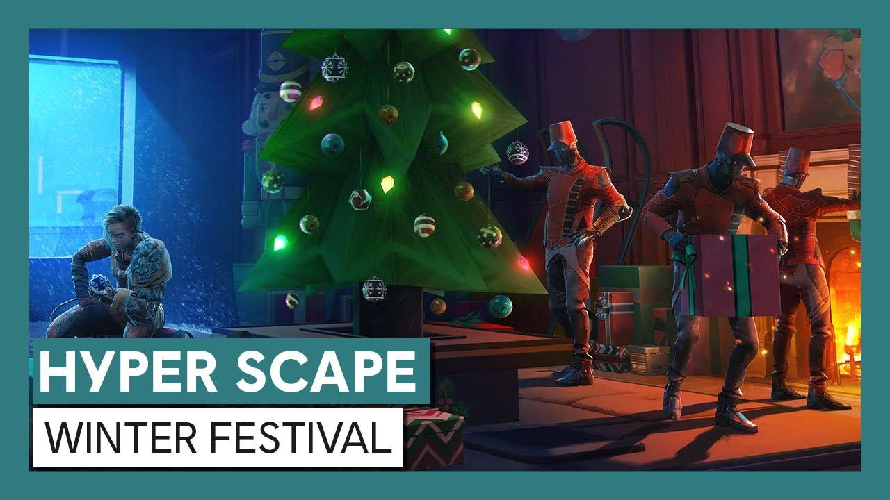Hyper Scape: Winter Festival Trailer