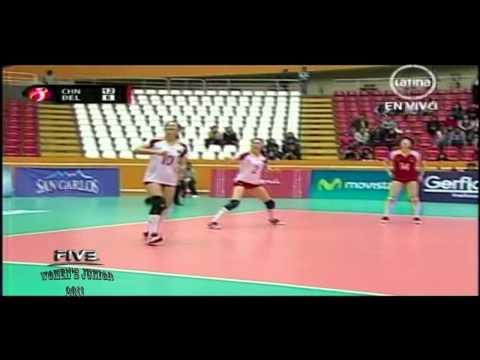 China x Belgica 1set FIVB Women's Junior 2011