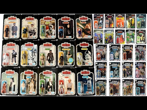 "100 Vintage Star Wars Action Figures! ""My Collection"""