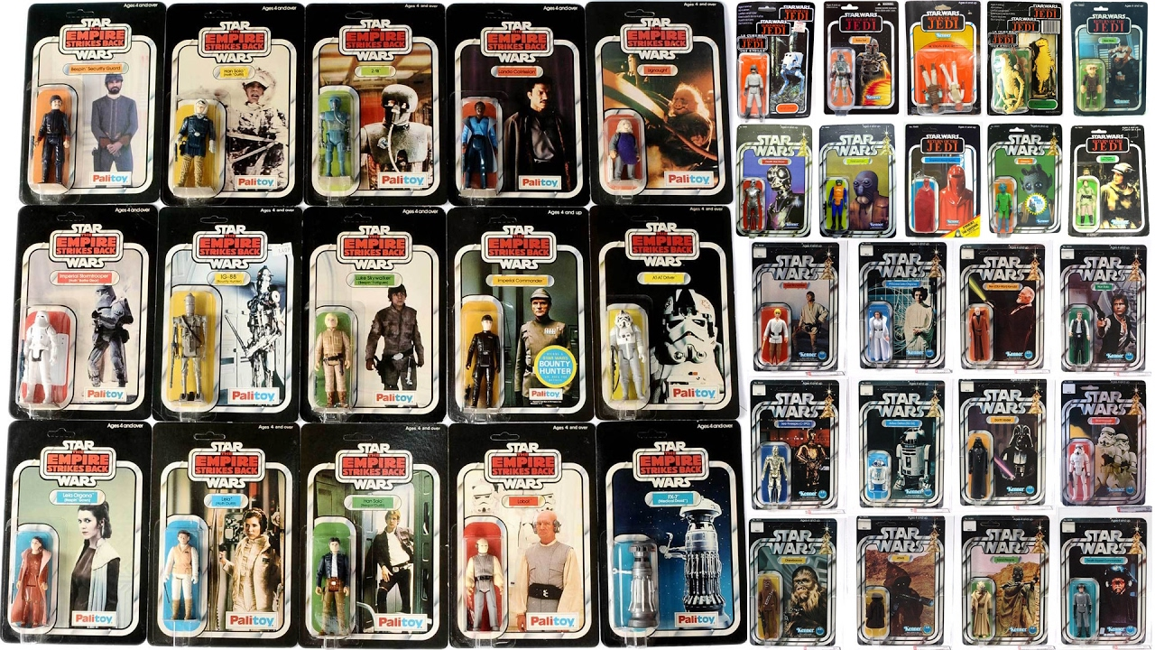 Star Wars Vintage Toys : Vintage star wars action figures quot my collection