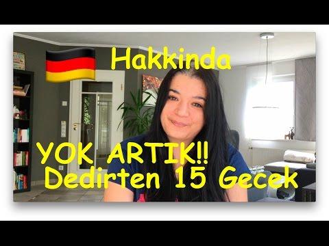 Almanyada YOK ARTIK dedirten 15 Gercek
