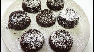 Cucina: Tortino caldo di cioccolato vegano (dolce)