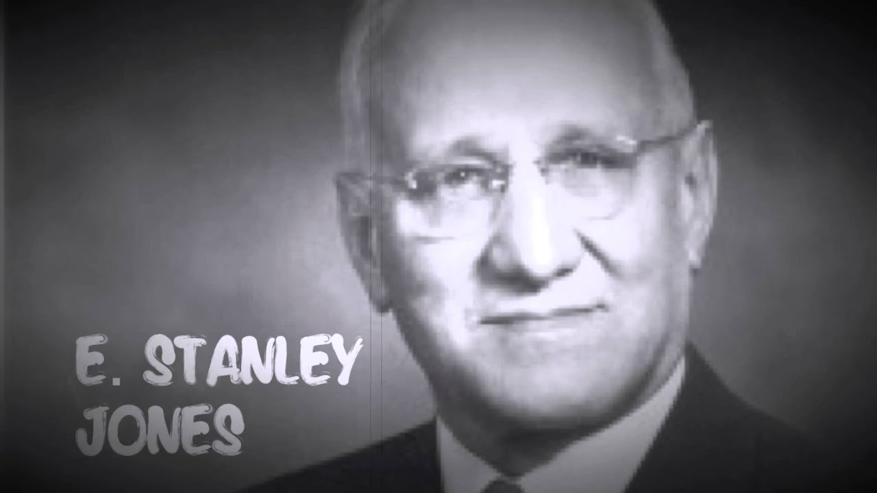 E. STANLEY JONES: God Is Like Christ