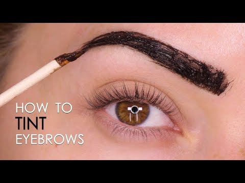 6ad7768fef93 How To Tint Brows At Home Tutorial | Shonagh Scott - YouTube