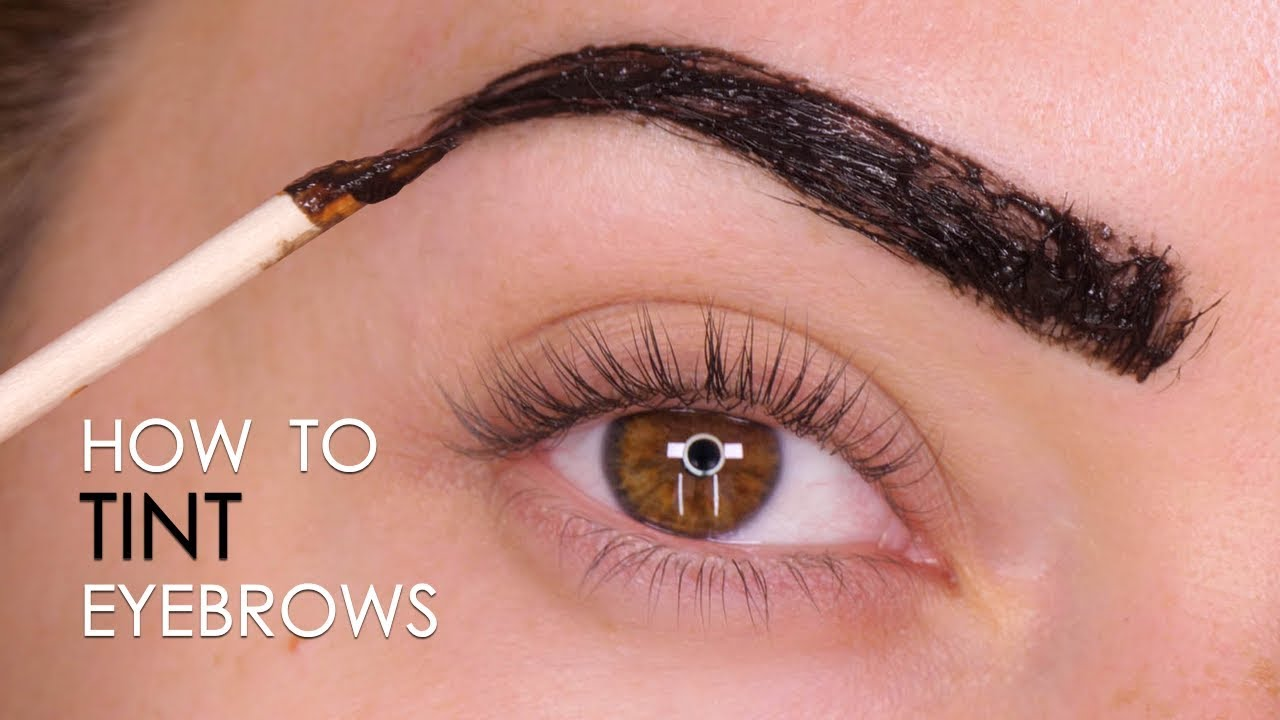 How To Tint Brows At Home Tutorial | Shonagh Scott