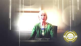NFAs 2016. Lifetime Achievement Award: Helen Mirren