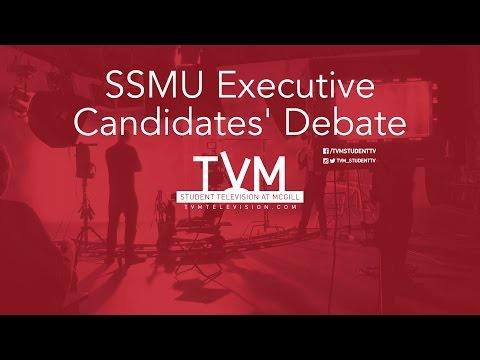 SSMU Executive Candidates' Debate