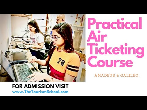 Air Ticketing Practical Training | Air Ticketing Diploma No IATA | GDS Training