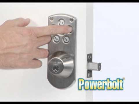 Weiser Powerbolt Ad - YouTube