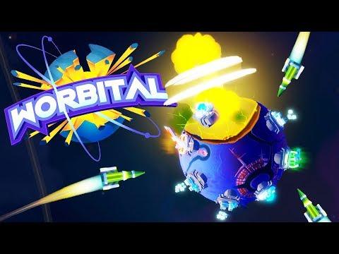 FORTS in SPACE! Interplanetary Battles! - Worbital Gameplay