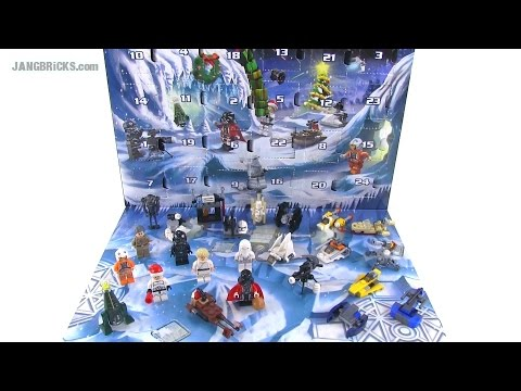 lego friends joulukalenteri 2018 ohjeet LEGO Star Wars 2014 Advent Calendar opened & reviewed!   YouTube lego friends joulukalenteri 2018 ohjeet