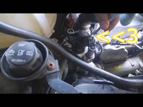 Sprinter EGR valve Removal and Cleaning 2010-2016 3.0L diesel