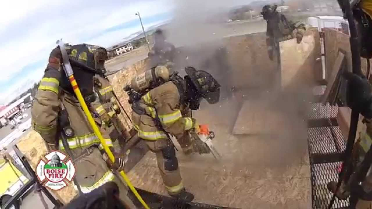 Boise Fire Recruit Academy Ventilation Training Youtube
