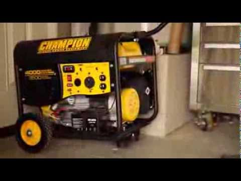 Generator Storage and Maintenance