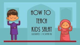 How to Teach Kids Salat - Nouman Ali Khan - illustrated   Subtitled