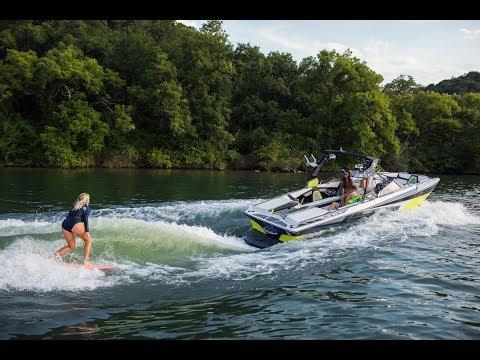 Bethany Hamilton Wakesurfs Tige Boats - Full Video
