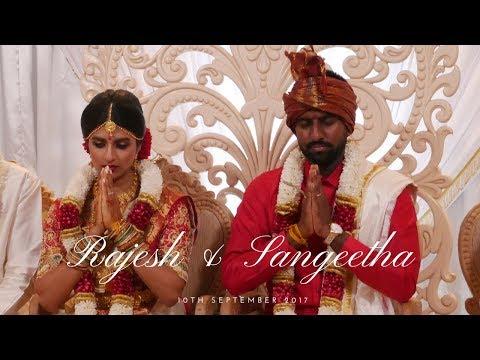 Rajesh & Sangeetha Hindu Wedding and Reception - 10th September 2017
