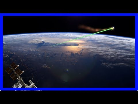 China air force engineers propose space-based laser to remove small space junk