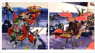 Lego Ninjago 2015 summer sets revealed!