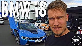 picking up a 2014 bmw i8