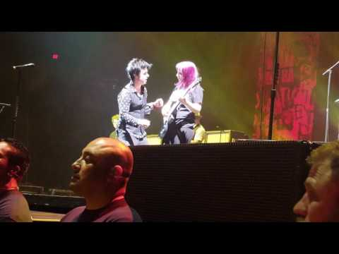 Green Day - Knowledge LIVE at the Talking Stick Resort Area, Phx AZ 3/1/17