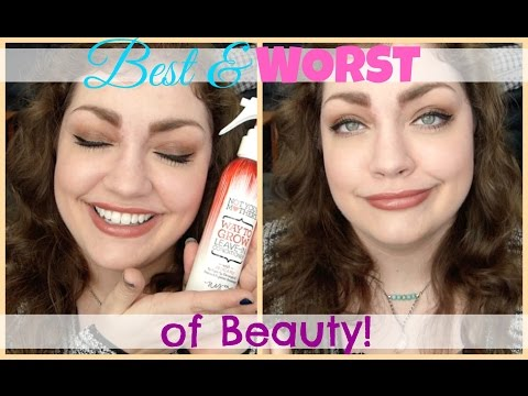 Best & Worst of Beauty: February 2016