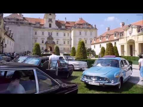Sraz vozidel Tatra na zámku Valtice 2018