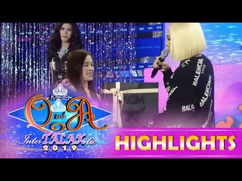It's Showtime Miss Q and A: Jackque receives a special gift from Vice