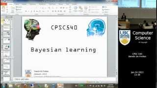 Machine learning - Bayesian learning