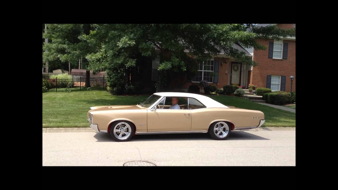 *RARE* 1966 GTO Martinique Bronze with RED fender liners ...