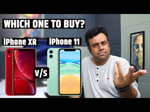 IPhone 11 Vs IPhone XR - Should You Buy? IPhone 11 & IPhone Xr Comparison Hindi With India Pricing