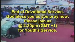 Apostolic Faith WECA. 2018 Camp Meeting. Devotional Service: 05-08-2018
