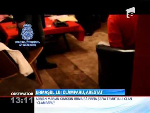 Urmaşul lui Clămparu, arestat