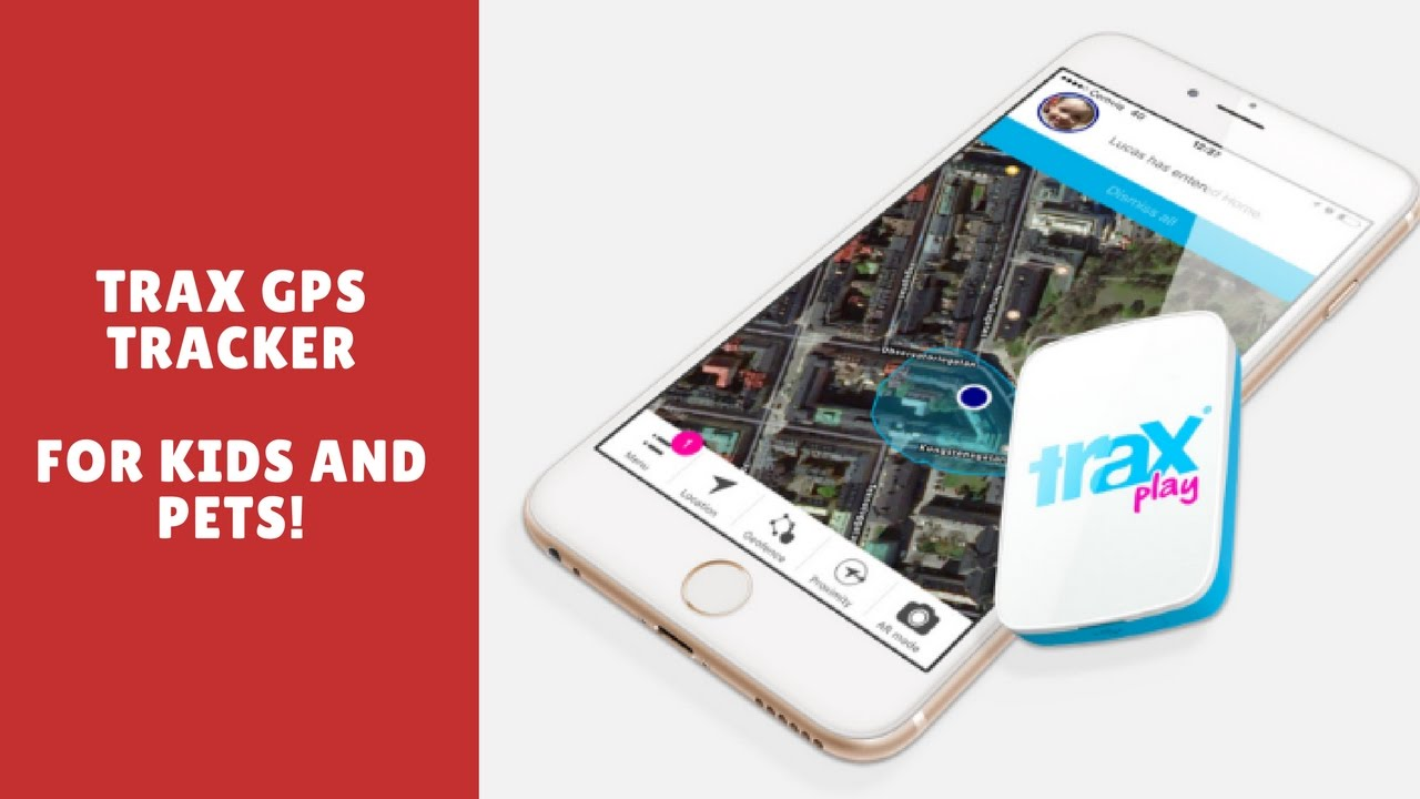 Trax GPS Tracking Device - YouTube