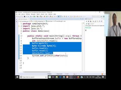 Java #22 BufferedInputStream,BufferedOutputStream,BufferedReader,BufferedWriter,transient - CSE1007