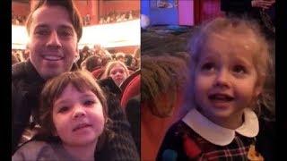 ЛИЗА И ГАРРИ- видео от 27 января-Побывали на спектакле 'Мама-Кот'