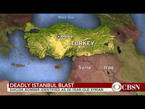 Explosion Hits Tourist Area In Central Istanbul