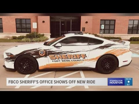 Fort Bend County Sheriff's Office shows off new ride