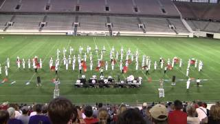 East River HS Vanguard at Marching Music Performance Assessment (MPA) 2012