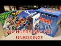 Unboxing The Avengers Mightiest Heroes Boxset!