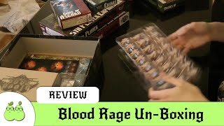 Blood Rage Un-Boxing (including Expansions)