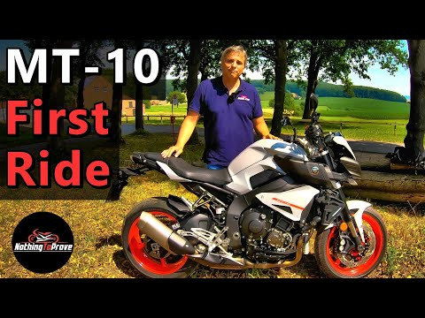 2019 Yamaha MT-10 | First Ride | Review | EN/DE Subs