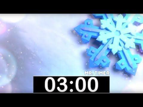 3 Minute Timer with Classical, Calm Music! Countdown Timer for Kids