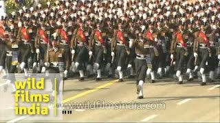 R-Day parade: Spectacular march past by Indian Army contingents