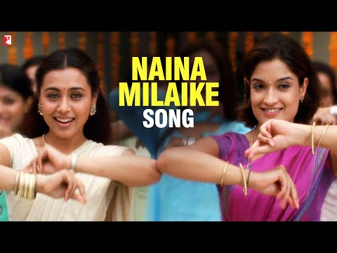 Naina Milaike Song | Saathiya | Vivek Oberoi | Rani Mukerji | Sadhana Sargam | Madhushree
