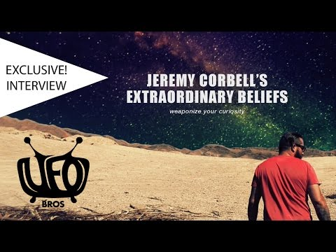 Jeremy Corbell gets lovingly probed | Contact in the Desert 2017 Interview