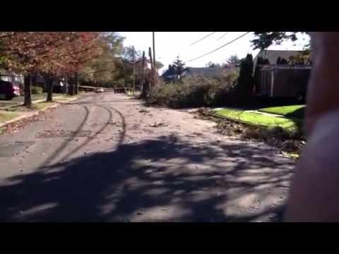 Aftermath of Sandy, Sat, Nov 3, Rockville Centre, NY
